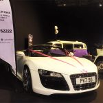 Audi R8 at Wedding Exhibition