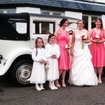 Bridal Party with Badsworth Bridal Car