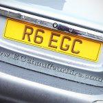 EG Chaffeur Hire Reg Plate