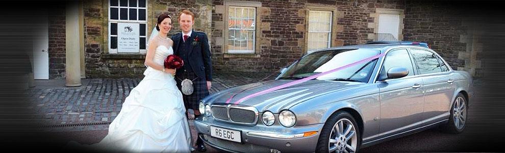 Jaguar Bride Couple