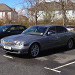 Jaguar Parked Sunny