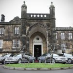 Our vehicles and chauffeurs at Mar Hall