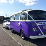 Volkswagen Camper Van in Wedding Livery